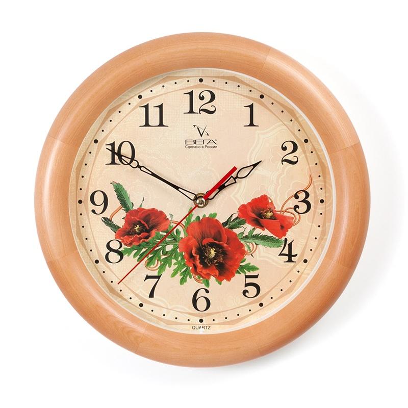 Настенные часы Вега Д1НД7137