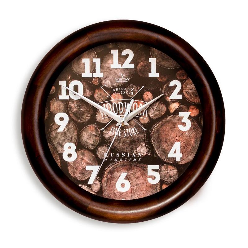 Настенные часы Вега Д1МД7281