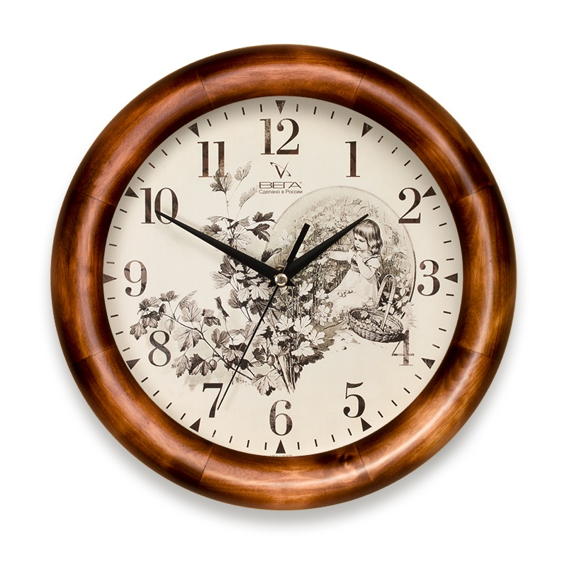 Настенные часы ВЕГА Д1Д7136