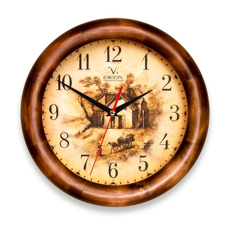 Настенные часы ВЕГА Д1Д7161