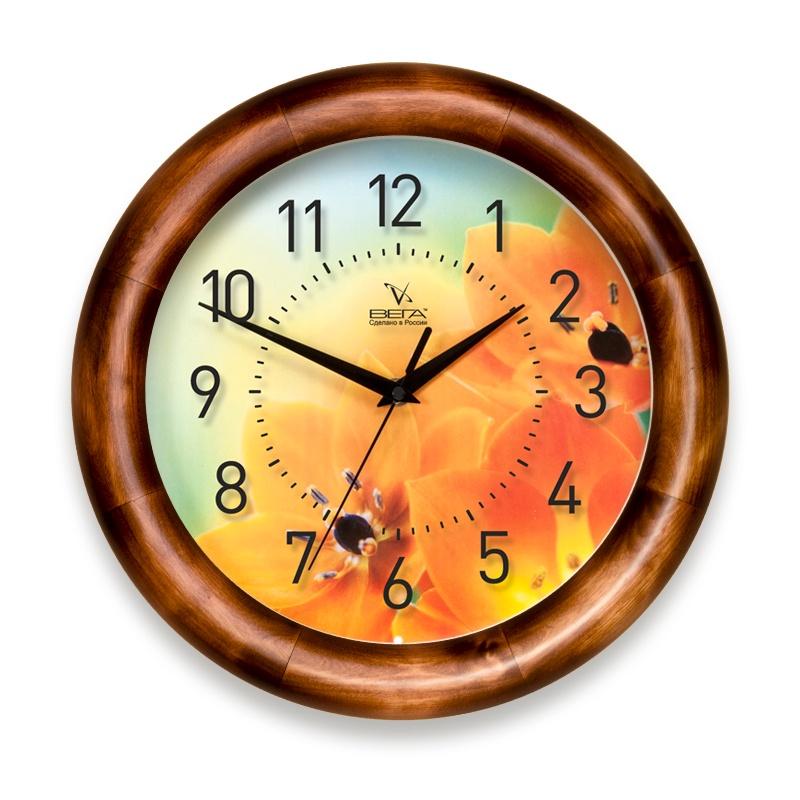 Настенные часы Вега Д1Д7247