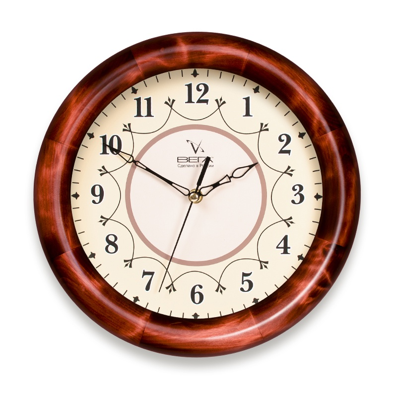 Настенные часы ВЕГА Д1КД712