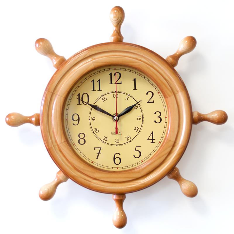 """Настенные часы Вега Д7НД-2""""Бежевая классика"""""""