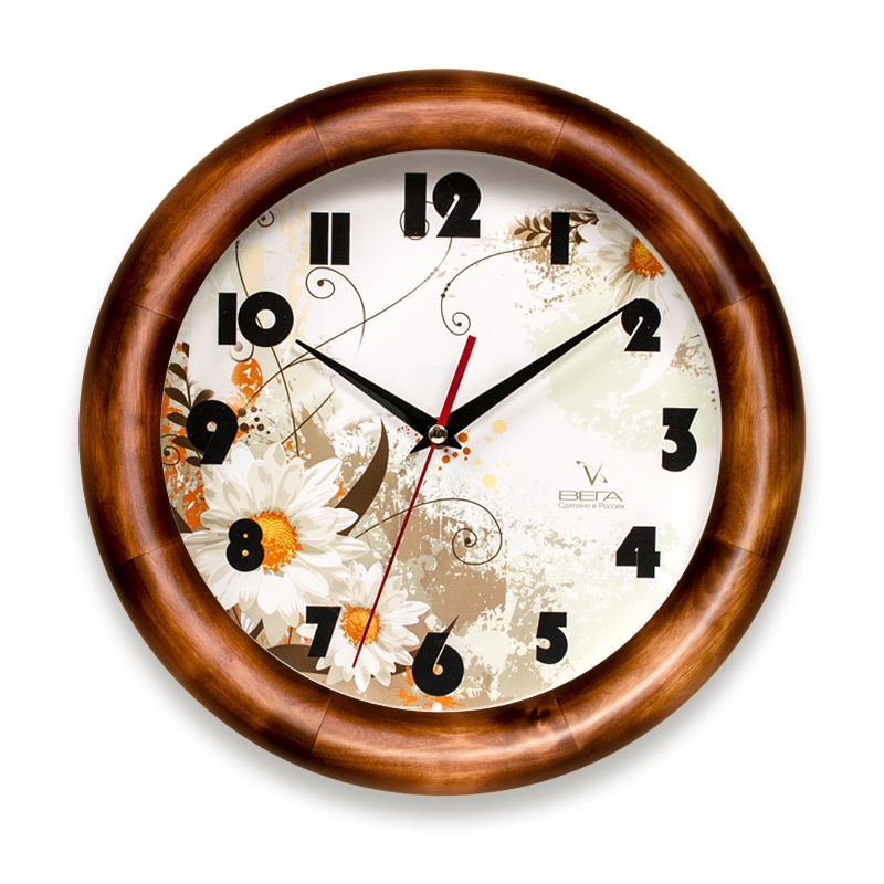 Настенные часы Вега Д1Д749