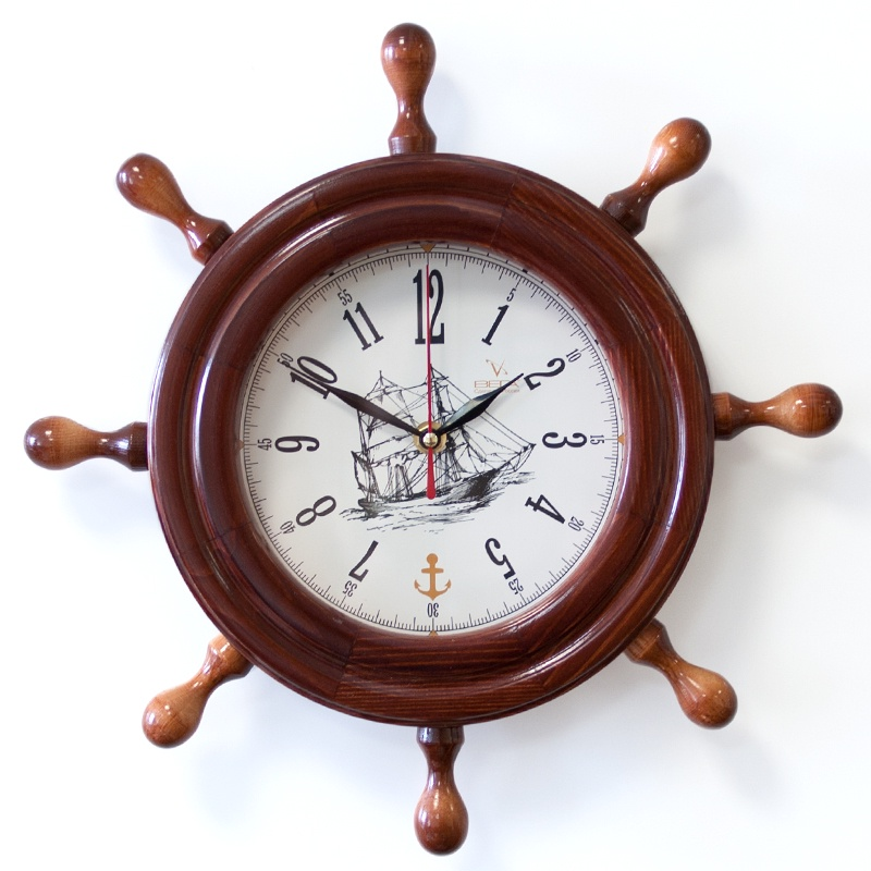 "Настенные часы Вега Д7КД-5 ""Корабль"""