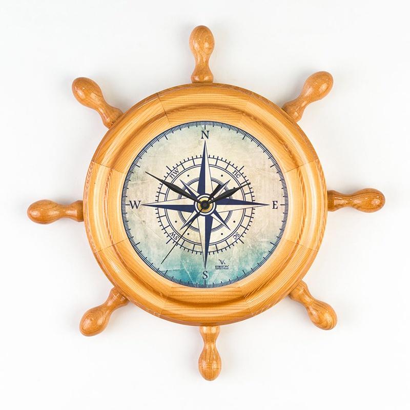 """Настенные часы Вега Д7НД-9 """"Роза ветров"""""""