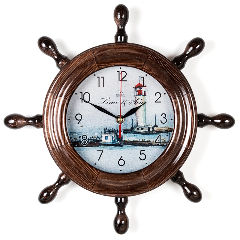 "Настенные часы Вега Д7МД-14""Маяк вечерний"""