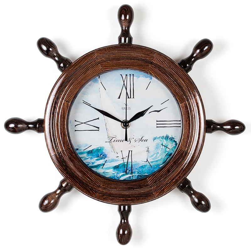 """Настенные часы Вега Д7МД-15""""Парусник"""""""