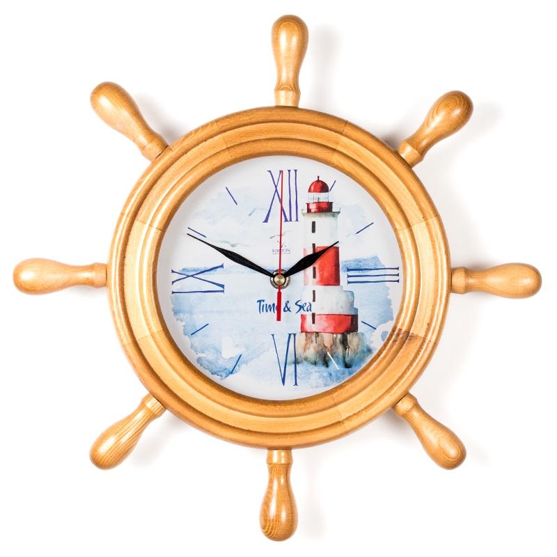 """Настенные часы Вега Д7НД-16""""Маяк на горе"""""""
