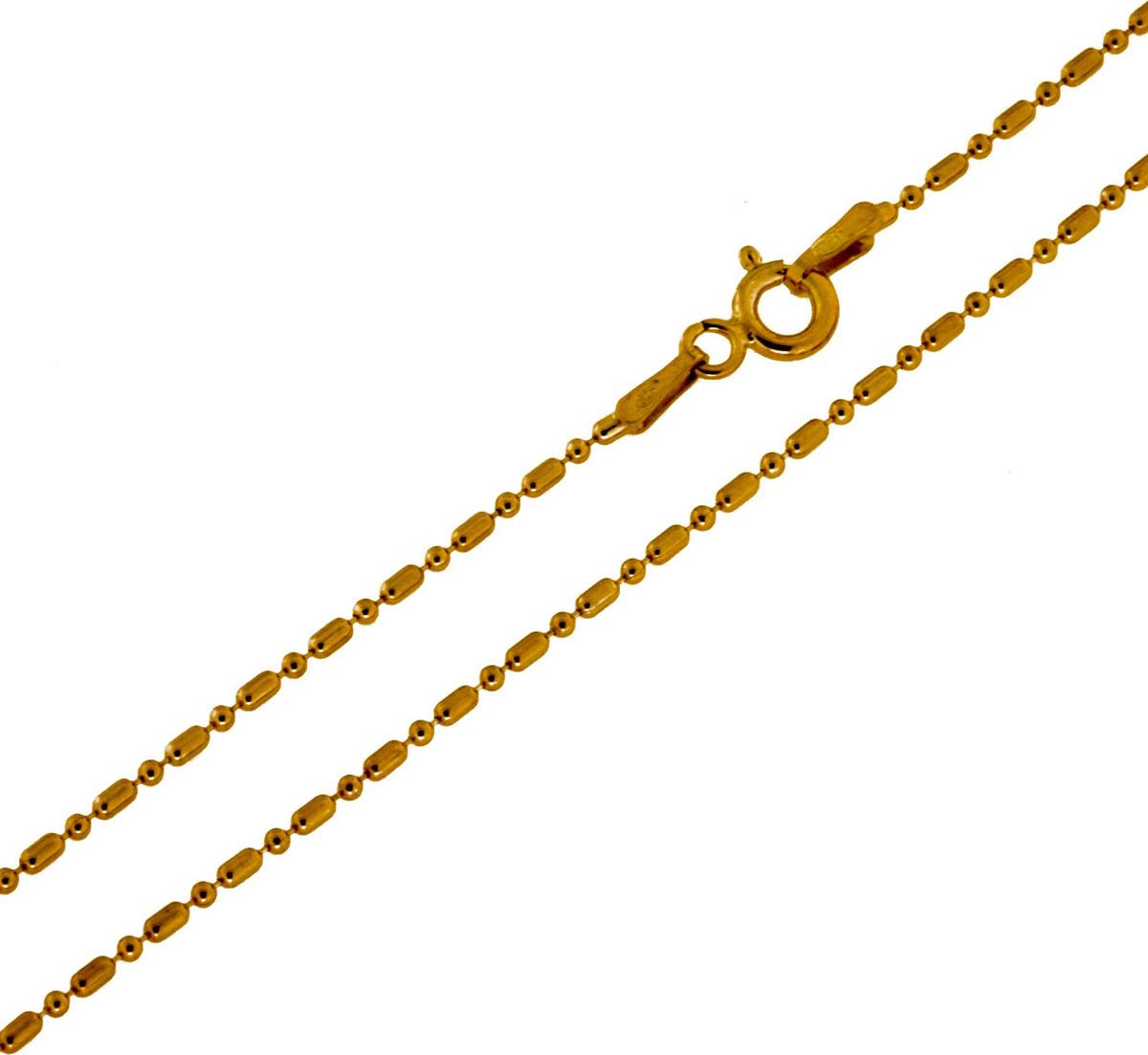 Цепочка Серебряная Венеция Точка-тире облегченная, серебро 925, 50 см, 5539Z120LСереброЦепочка Точка-тире облегченная из серебра 925 пробы. Цепь Серебряная Венеция с двойным золочением из основного слоя золота в 24 карата (999 пробы) и верхнего (подцвечивающего) слоя золота 585 пробы. Цепочка сделаны из шариков и бочонков на тонкой серебряной нити. Цепочка может носиться и как самостоятельное украшение, и в дополнение с кулоном. Серебряные цепи с двойным золочением внешне почти не отличаются от золотых, прекрасно сочетаются с золотыми украшениями, но более доступны по цене. Такое украшение практично и модно. Цепочка произведена в Италии с использованием самого передового оборудования и современных технологий, что несомненно говорит о её качестве.
