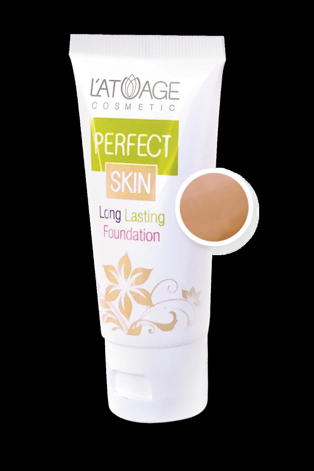Тональный крем L'atuage Cosmetic PERFECT SKIN тон 105 легкий загар