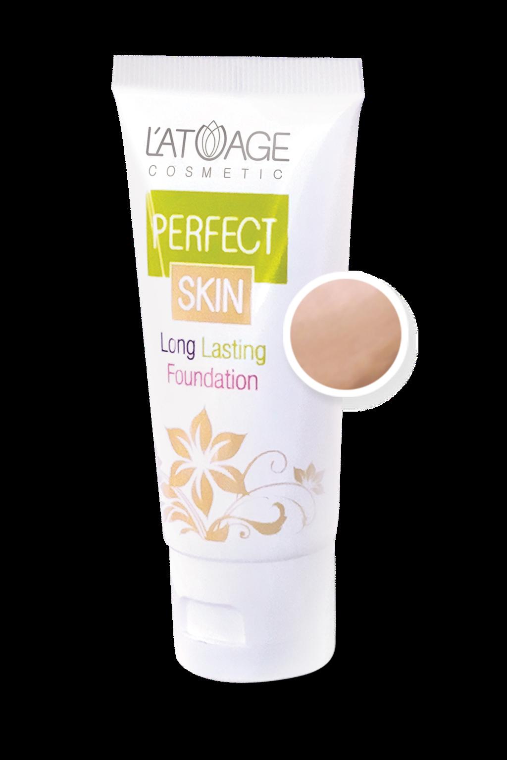 Тональный крем L'atuage Cosmetic PERFECT SKIN тон 104 песочный беж