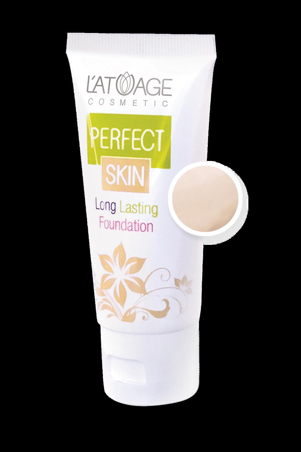Тональный крем L'atuage Cosmetic PERFECT SKIN тон 101 светлый беж