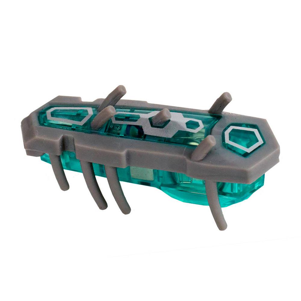 Игрушечный робот Hexbug Nano Nitro серый, голубой