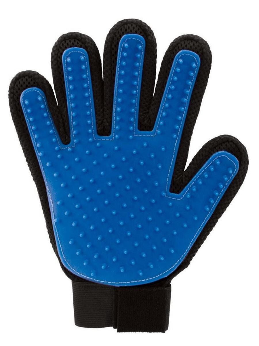 Рукавичка для чистки шерсти Tip-Top 4605170010789, черный, темно-синий