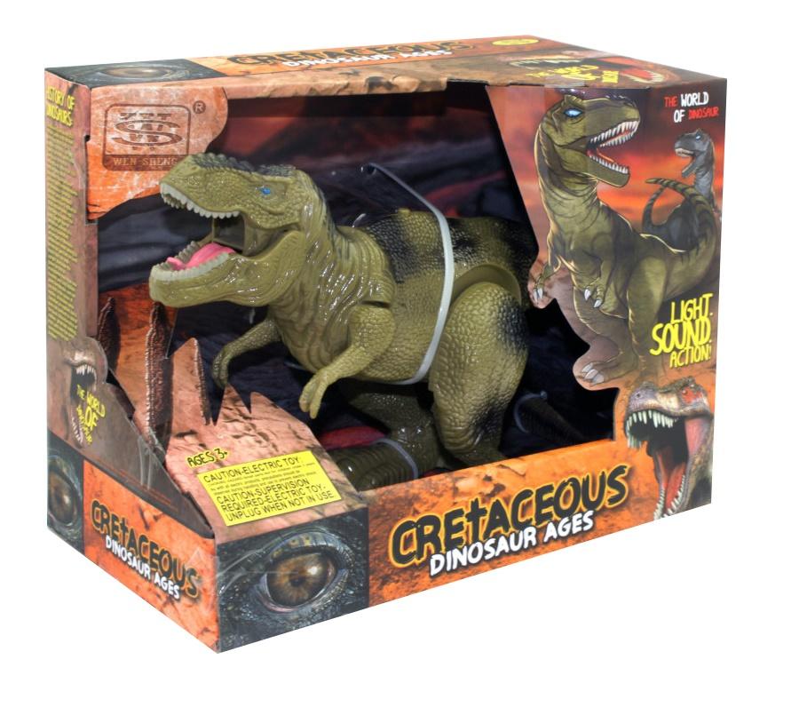 Фигурка Динозавр со светом и звуком DL0032408