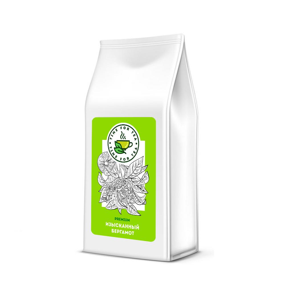 Чай листовой Время Чая Изысканный Бергамот PREMIUM, 500 чай листовой время чая клубничный eco premium 250