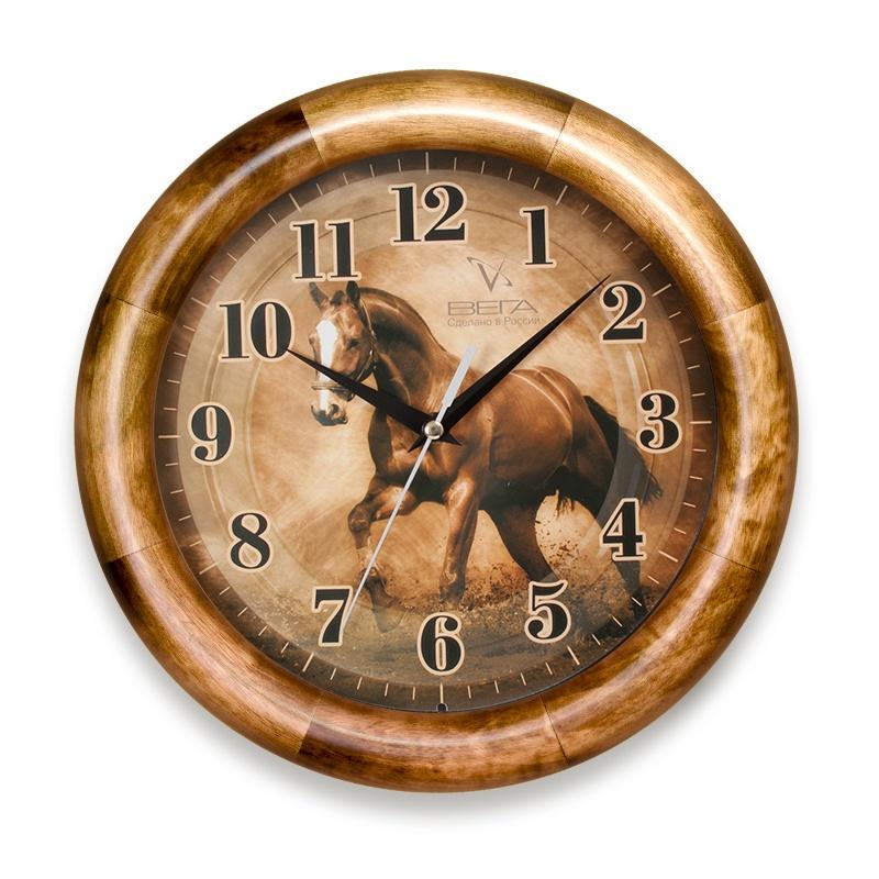 Настенные часы ВЕГА Д1О6186