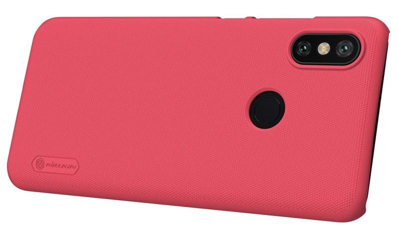 Чехол для сотового телефона Nillkin Накладка Frosted Xiaomi Mi 6X/A2 Red, красный силиконовая накладка nillkin для xiaomi mi a2 white