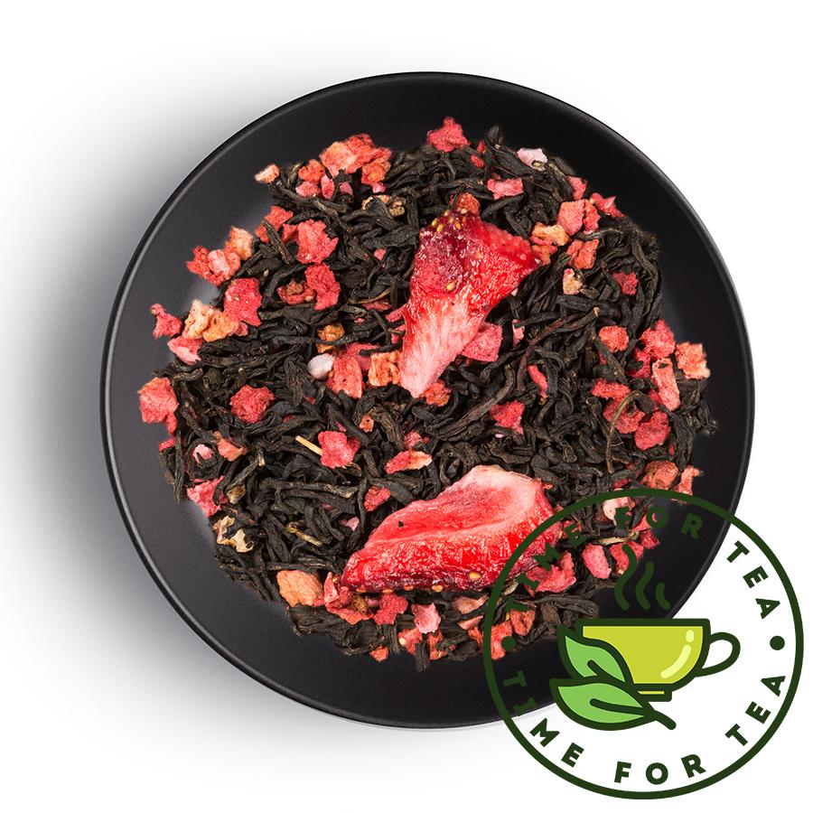 Клубничный ECO PREMIUM чай листовой время чая клубничный eco premium 250