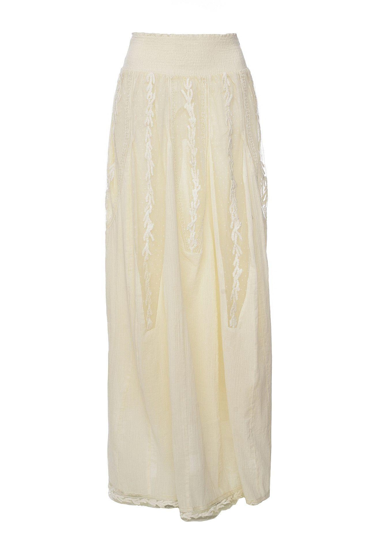 Юбка TWIN-SET twin set lingerie длинная юбка
