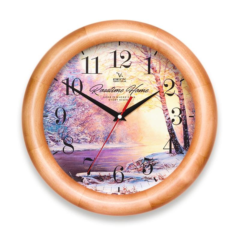 Настенные часы Вега Д1НД7383