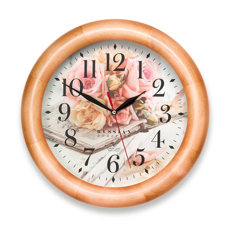 Настенные часы Вега Д1НД7251