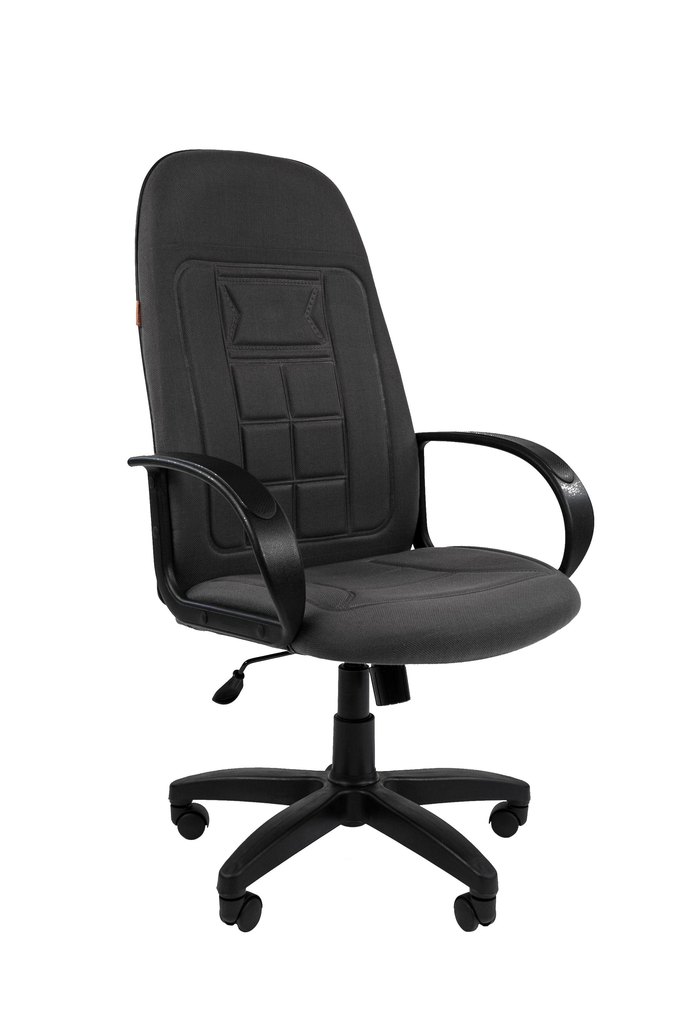 Компьютерное кресло CHAIRMAN 7271095994Кресло традиционной формы, но с ярким, нестандартным рисунком обивки. Рисунок - трехмерный, нанесенный методом термоклиширования, что придает креслу настоящую оригинальность и самобытность.