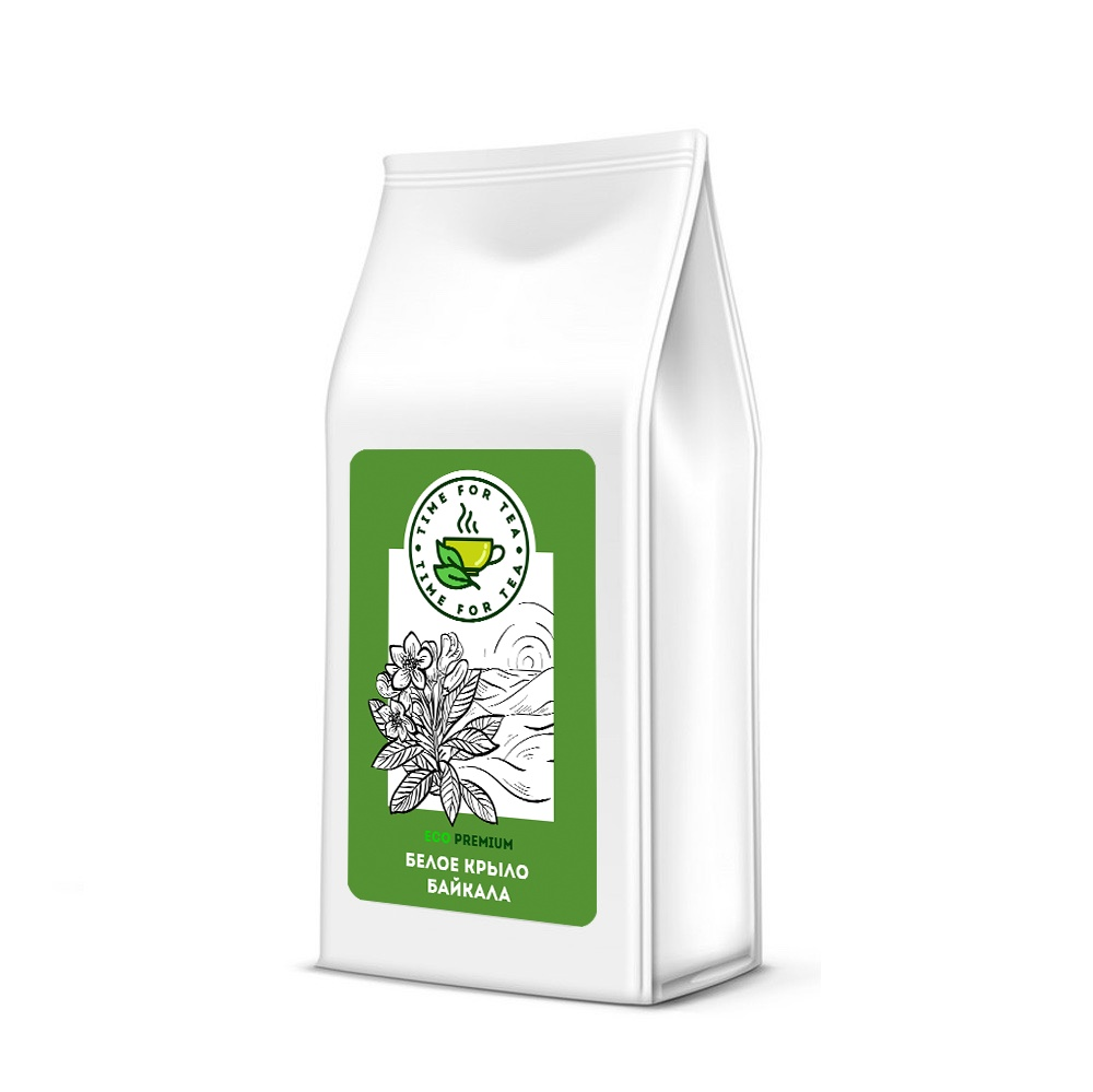 Чай листовой Время Чая Белое Крыло Байкала ECO PREMIUM, 500 чай листовой время чая клубничный eco premium 250