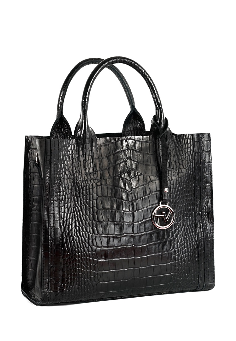 Сумка VITA, VITA-Art A 01-220 CROCO, черный сумка vita vita mp002xw0no4b