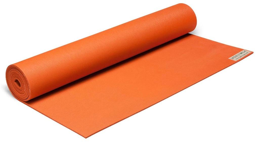 Коврик для йоги и фитнеса Jade Orange - Оранжевый 173 х 60 х 0,5, оранжевый коврик для йоги jade harmony 5 мм из каучука 2 3 кг 173 см 5 мм оранжевый tibetan orange 60см