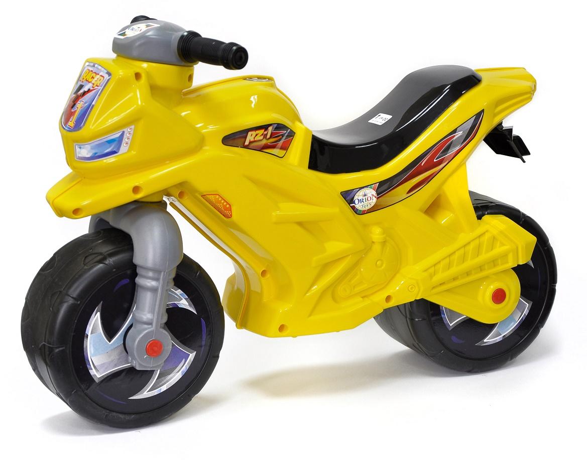 Каталка ORION TOYS Мотоцикл 501 цвет лимонный