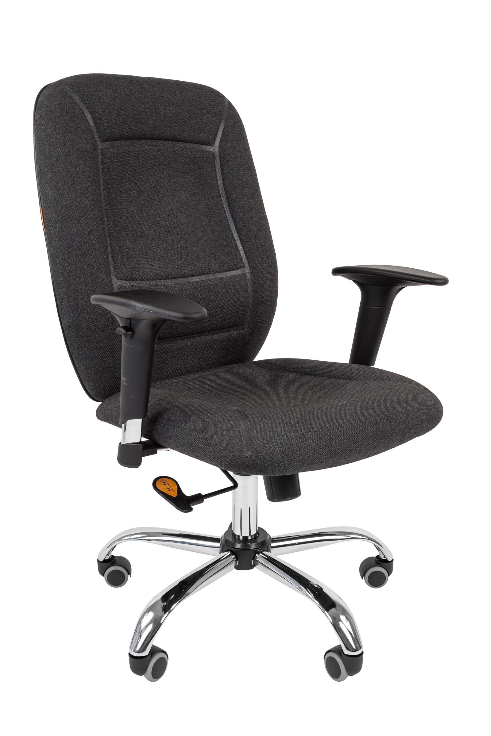 Офисное кресло CHAIRMAN 8887023830Современное операторское кресло абсолютно уникального дизайна. Потрясающая эргономика, объемный рисунок, хромированные элементы и механизм повышенной комфортности. И да, это полностью российская разработка.