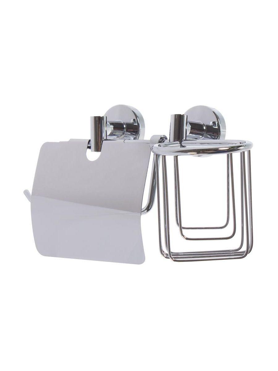 Держатель для туалетной бумаги mr. Penguin Держатель для освежителя воздуха, 2 в 1, Латунь mr page 2