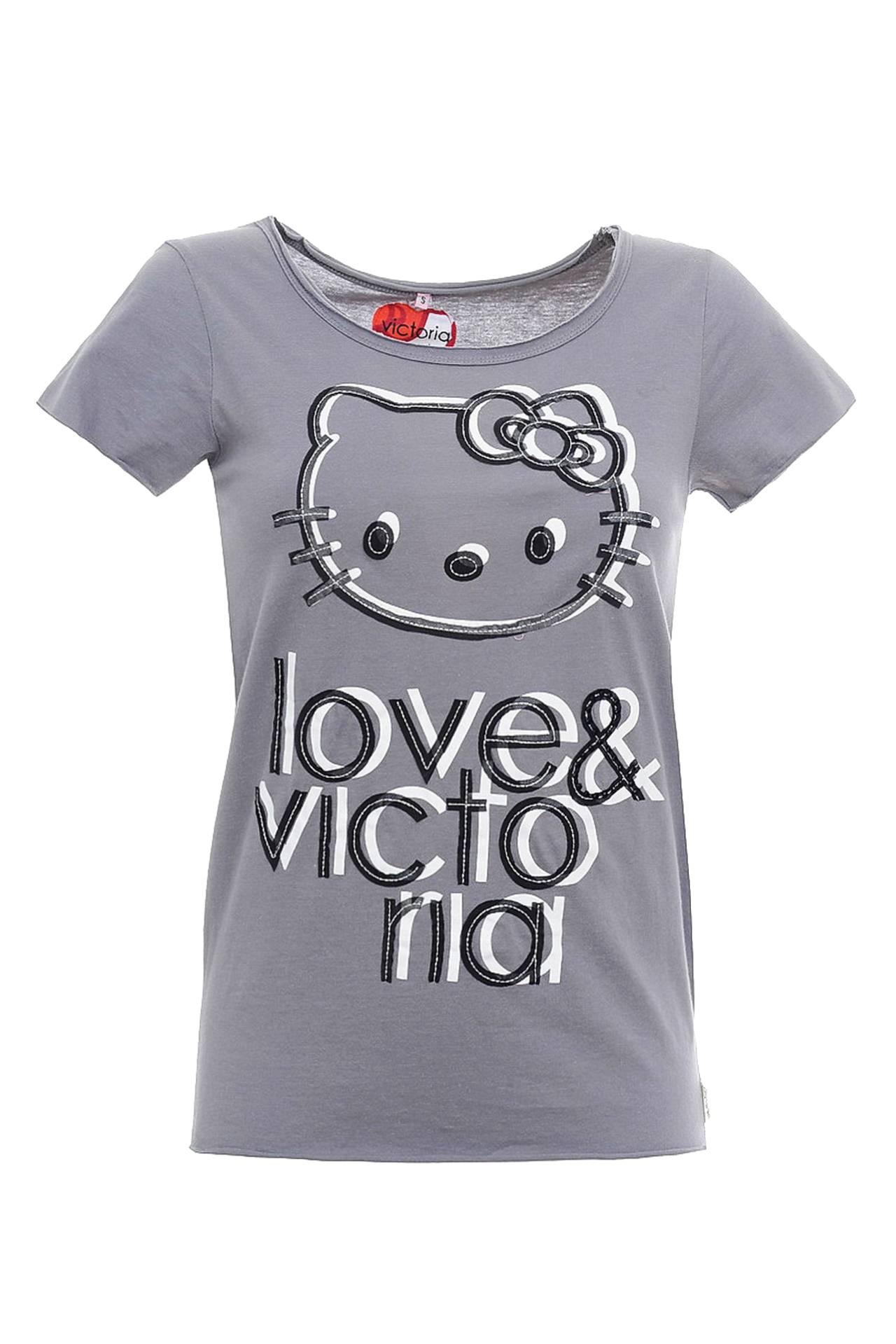Футболка VICTORIA COUTURE водолазки и лонгсливы ябольшой футболка длинный рукав 73 51а 01 версаль мальчик