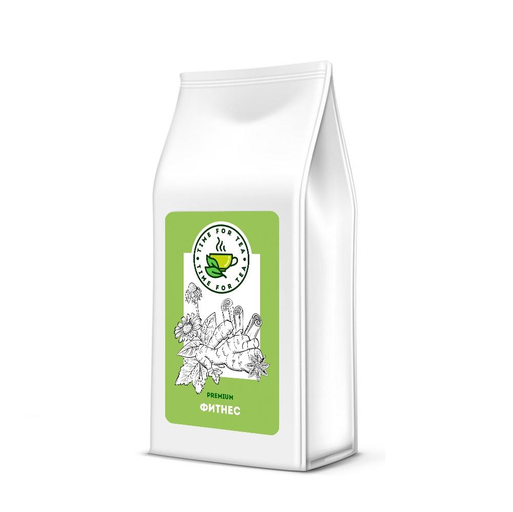 Чай листовой Время Чая Фитнес PREMIUM, 500 чай листовой время чая клубничный eco premium 250