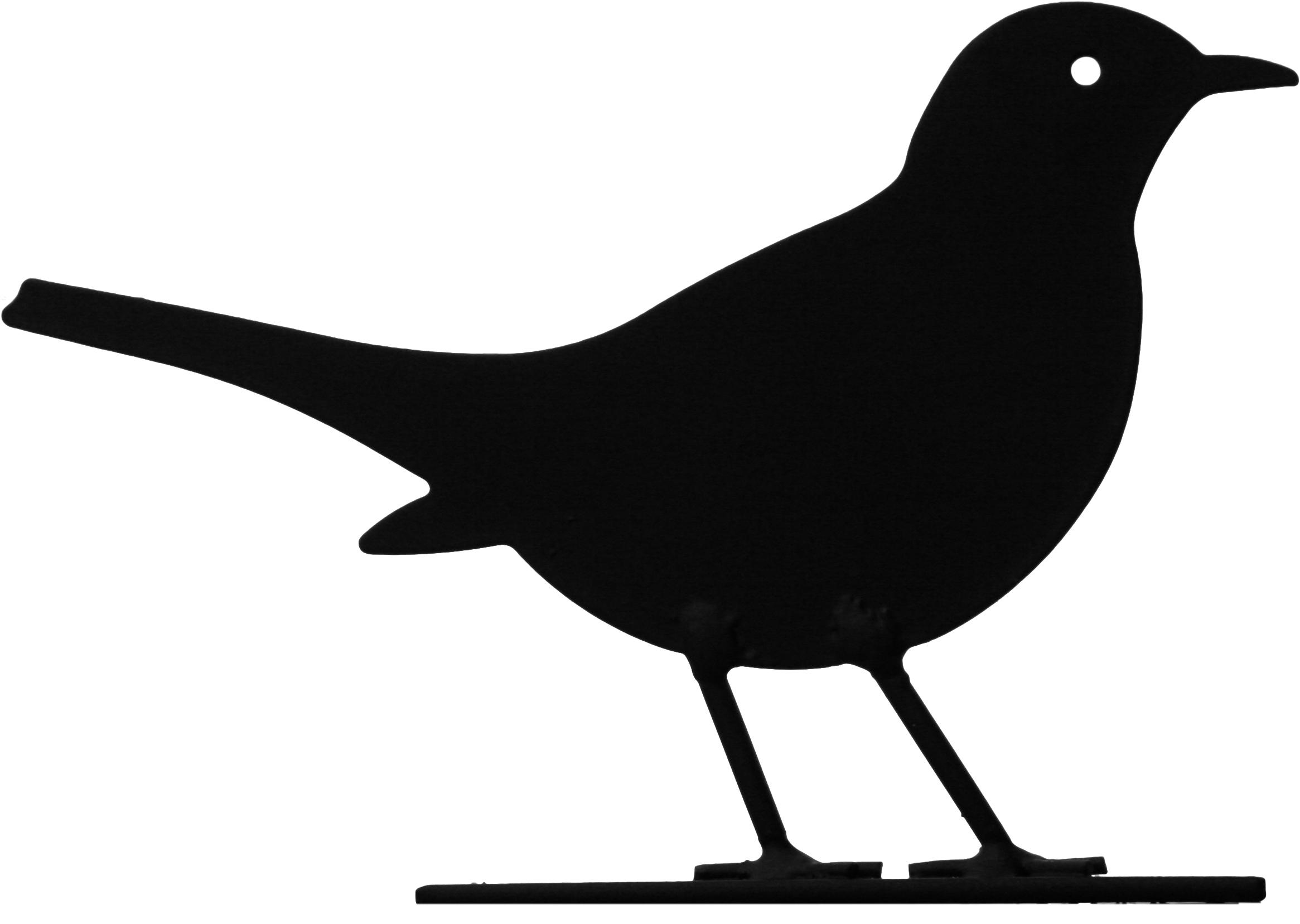 Фигурка декоративная Wildlife Garden Black bird кормушка для птиц wildlife garden nuts wg321 black
