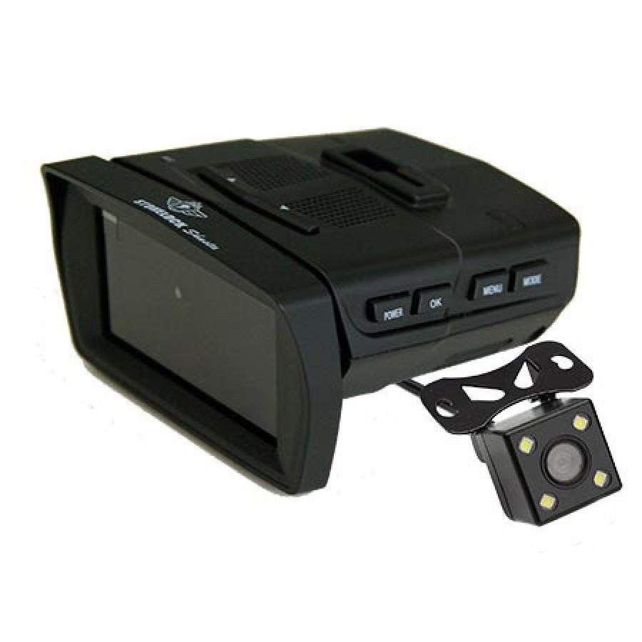 Фото - Видеорегистратор с радар-детектором Subini MERU видео