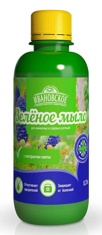 Удобрение Фермерское хозяйство Ивановское Зеленое мыло удобрение фермерское хозяйство ивановское для рассады 50г коричневый