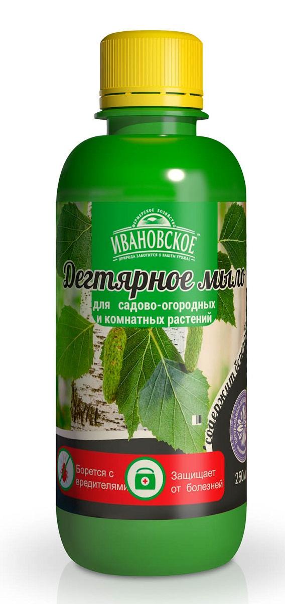 Удобрение Фермерское хозяйство Ивановское Дегтярное мыло удобрение фермерское хозяйство ивановское для рассады 50г коричневый