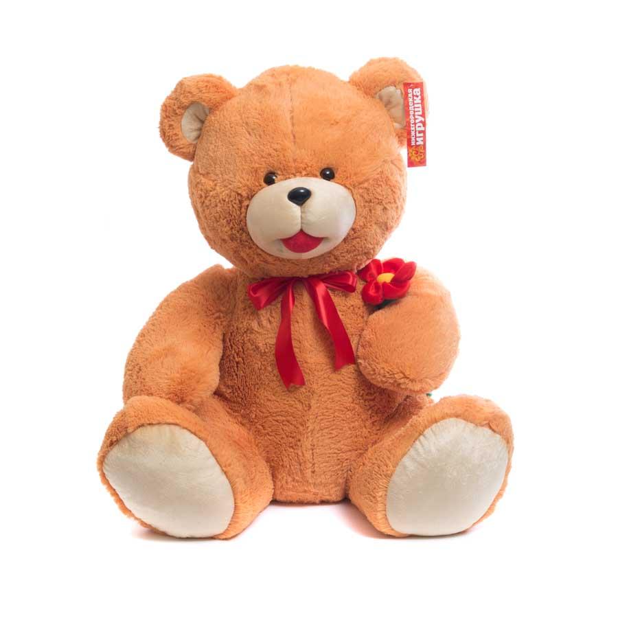 Мягкая игрушка Медведь с цветком Нижегородская Игрушка См-246-ц-5