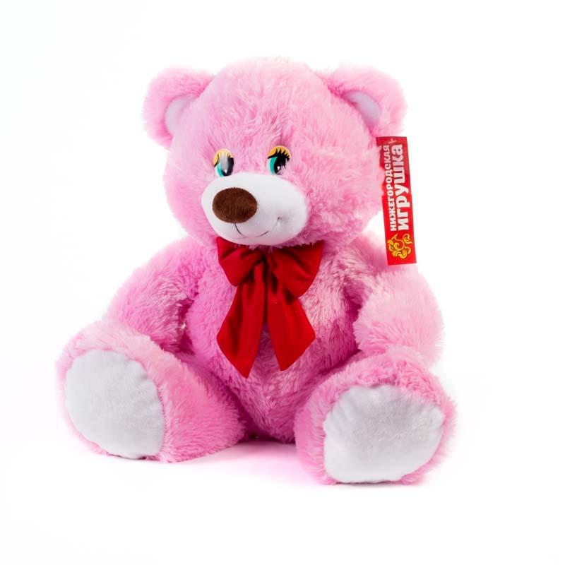 Мягкая игрушка Медведь с бантом Нижегородская Игрушка См-640-5