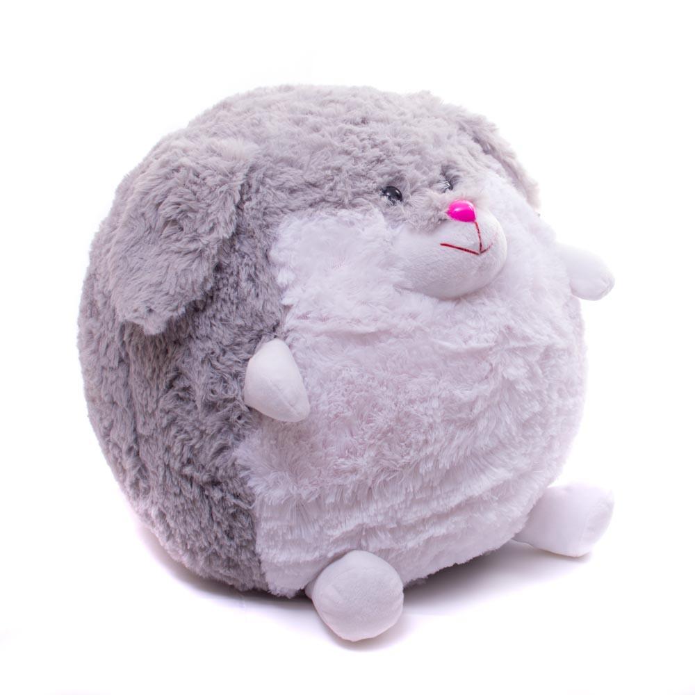 Мягкая игрушка Заяц круглый Нижегородская Игрушка См-713-5