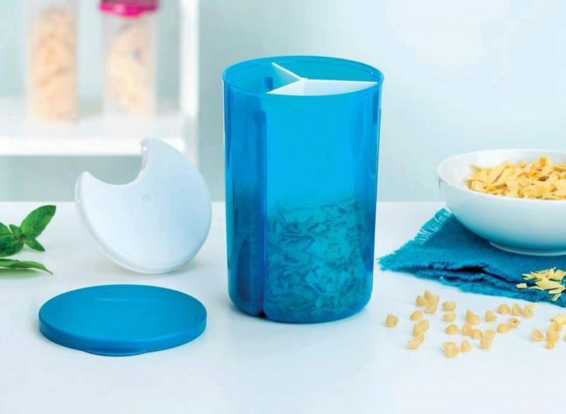 Банка для сыпучих продуктов Tupperware ПХ015, голубой