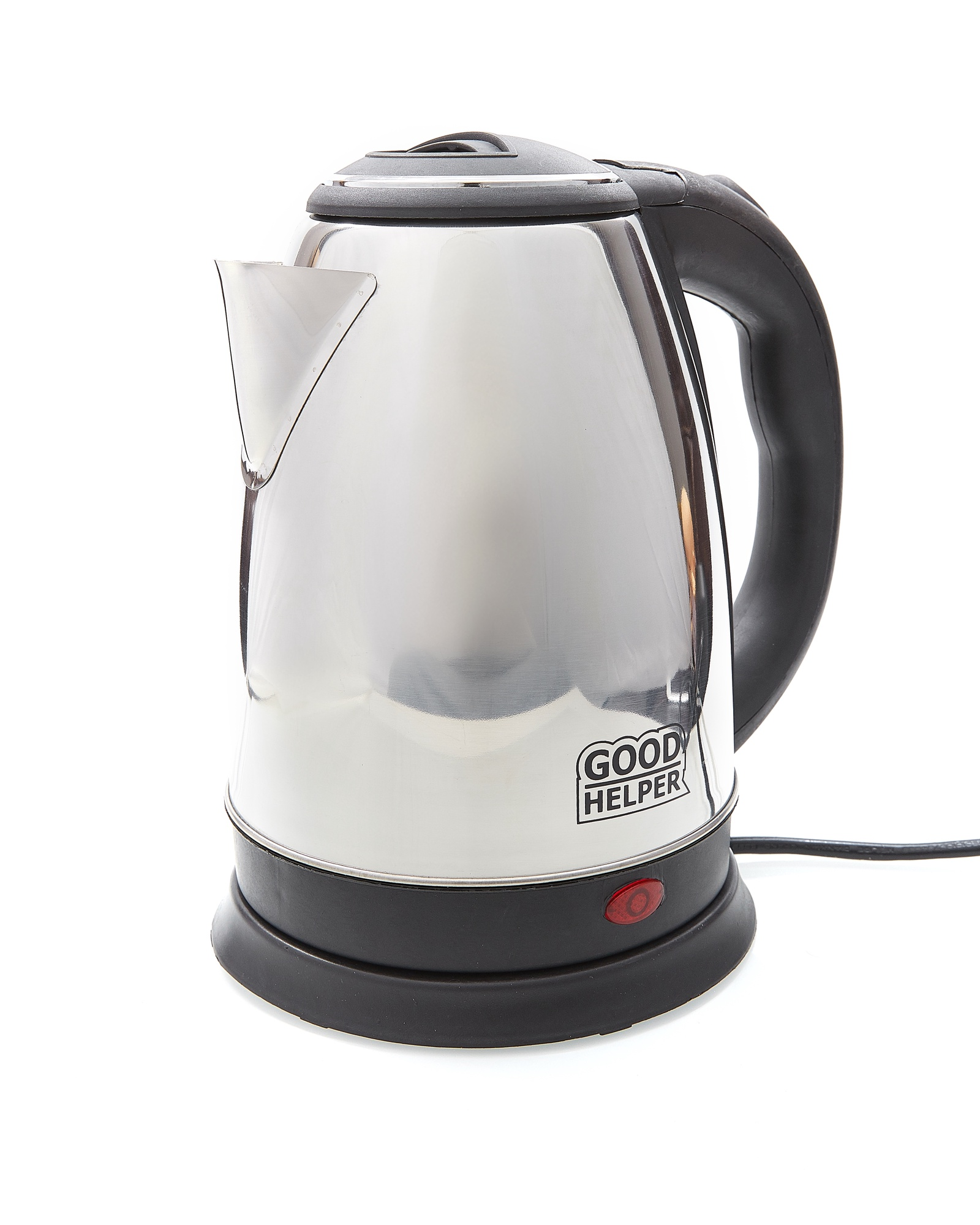 Электрический чайник GOODHELPER Чайник электрический GOODHELPER KS-18B02, серый металлик цена и фото