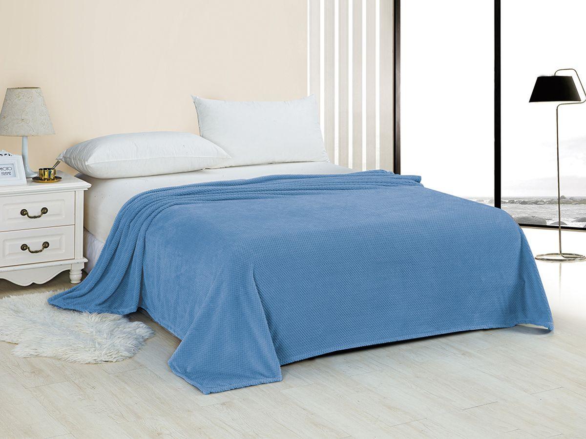 Плед Marca Marco Неаполь, голубой, 180 х 200 см цена