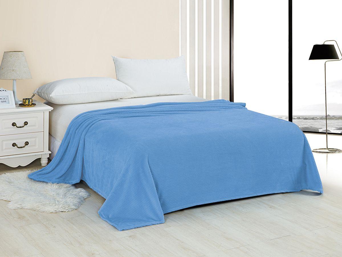 Плед Marca Marco Неаполь, голубой, 200 х 220 см цена
