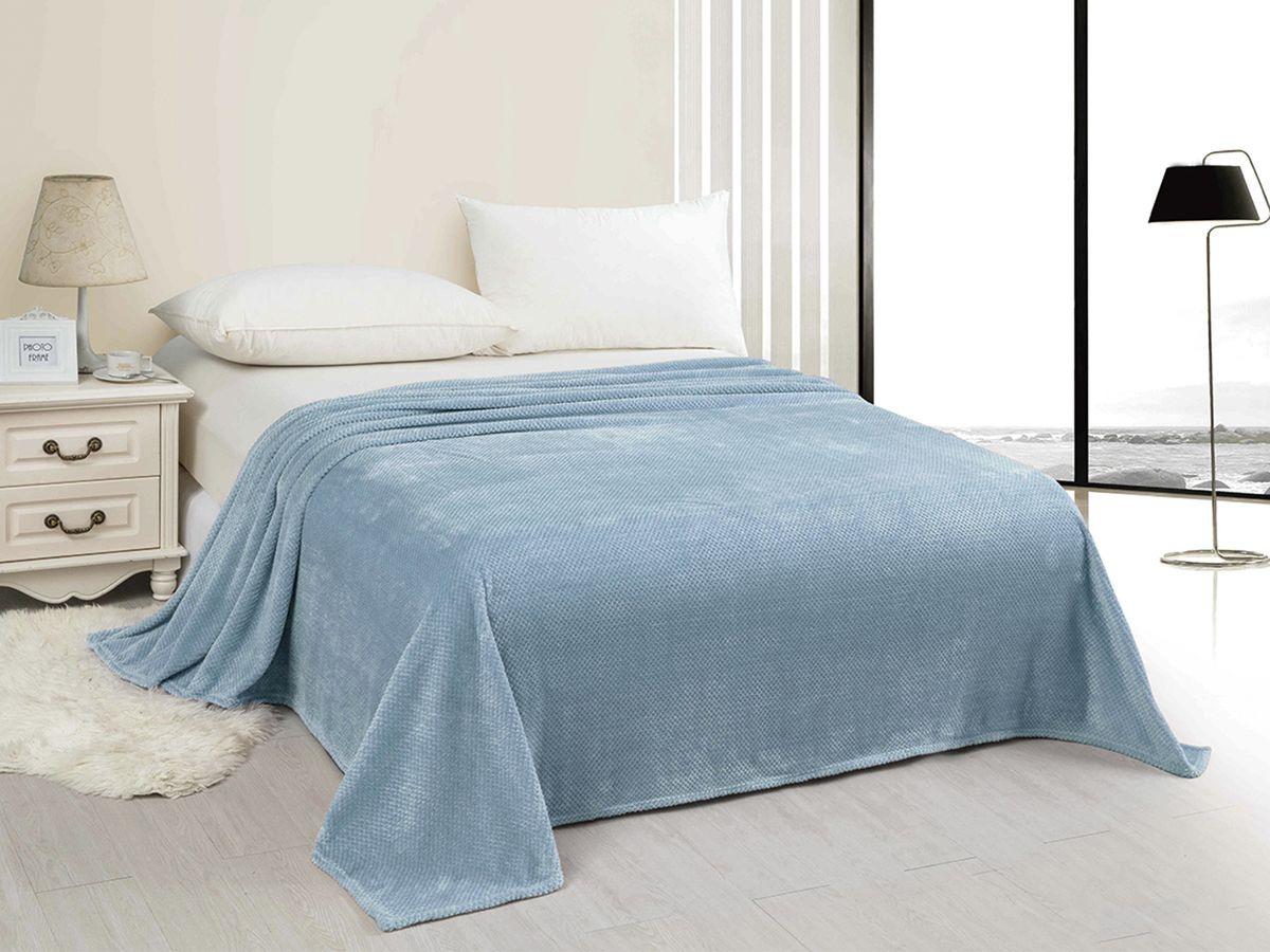 Плед Marca Marco Неаполь, светло-голубой, 200 х 220 см цена