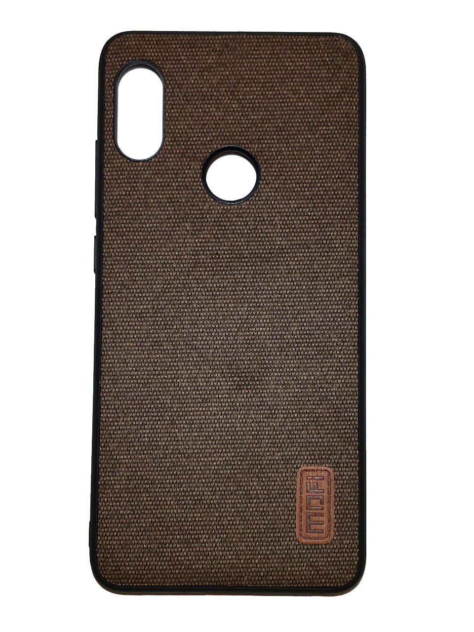 Чехол для Xiaomi Redmi Note 5 Накладка Fabric Xiaomi Redmi Note 5 /Note 5 Pro Brown xiaomi redmi note 5