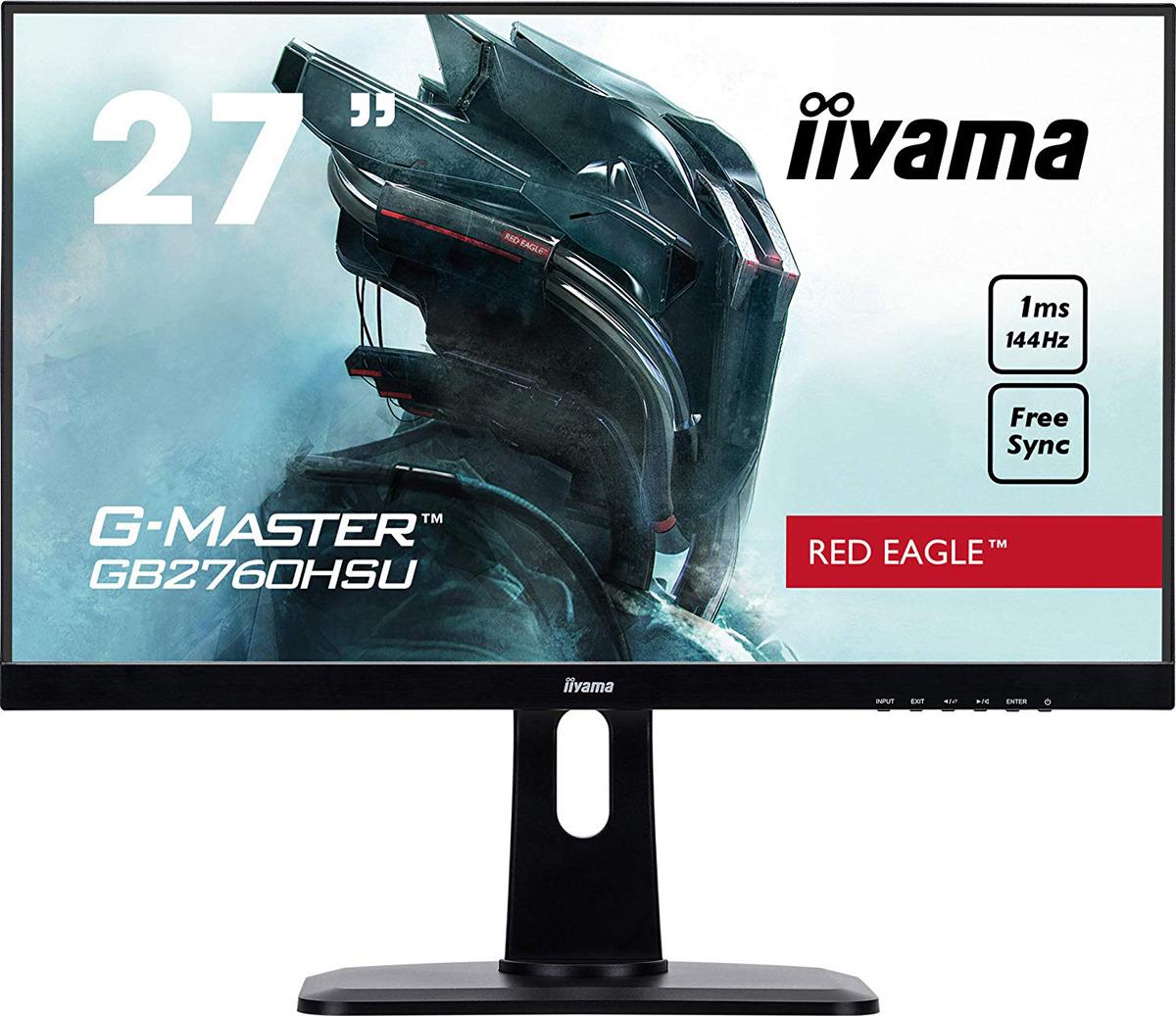 Монитор Iiyama 27 G-Master GB2760HSU-B1, черный монитор iiyama g master gb2760hsu b1 черный
